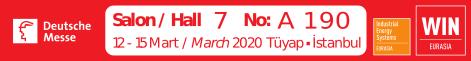 İstanbul WIN Eurasia 2020 Fuarı Ertelendi